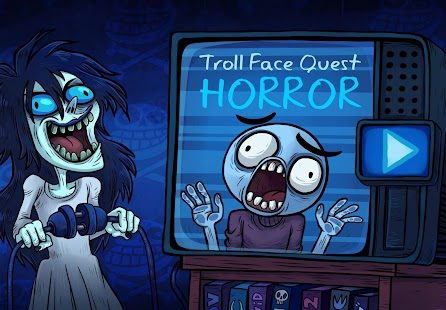 Troll Face Quest: Horror Screenshot