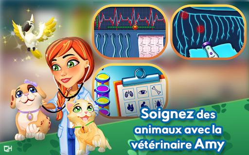Dr. Cares - Amy's Pet Clinic 🐈 🐕 APK MOD – Pièces Illimitées (Astuce) screenshots hack proof 1