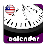 2021 US Calendar with Holidays and Observances