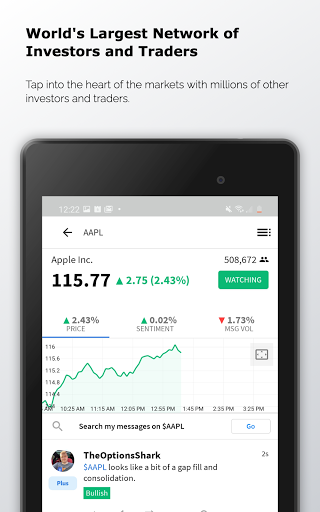 Stocktwits - Stock Market Chat android2mod screenshots 7