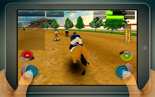 Télécharger Race Horses Champions Free  APK MOD (Astuce) screenshots 1