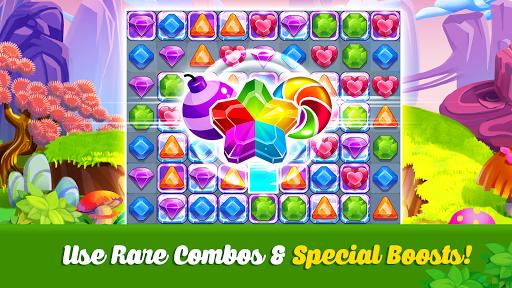 Addictive Gem Match 3 - Free Games With Bonuses  screenshots 8