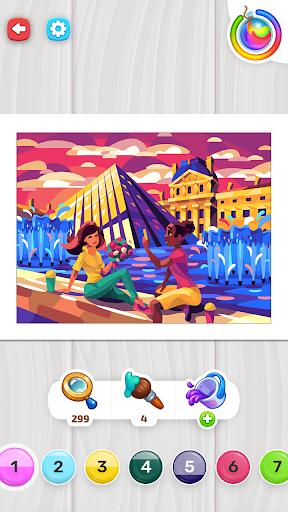 Color Stories - color journey, paint art gallery apkpoly screenshots 7