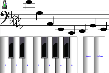 (light) learn sight read music notes piano tutor 7.0.3 Screenshots 14