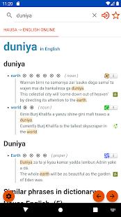 English Hausa Dictionary offline