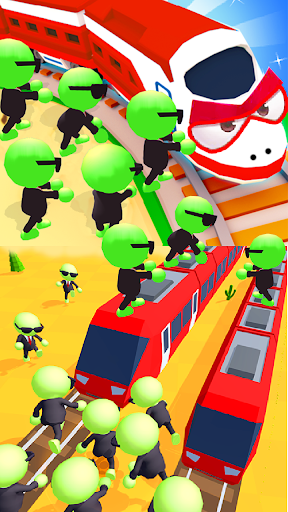 Train vs Zombies 3D .5 screenshots 1