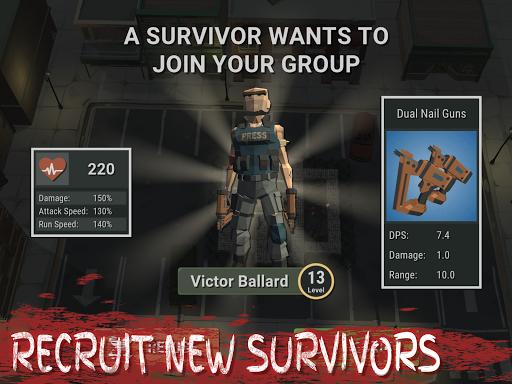 Overrun: Zombie Horde Apocalypse Survival TD Game apkpoly screenshots 12
