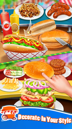 Street Food Stand Cooking Game for Girls 1.5 screenshots 4