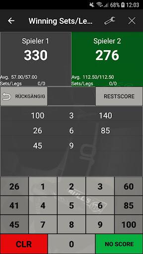 Darts Scoreboard: My Dart Training  Screenshots 2