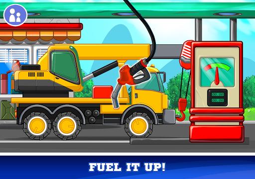 Kids Cars Games! Build a car and truck wash!  screenshots 11