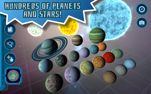Pocket Galaxy - 3D Gravity Sandbox Space Game Free  Screenshots 13