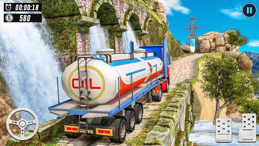 Offroad Oil Tanker Truck Simulator: Driving Games  screenshots 14
