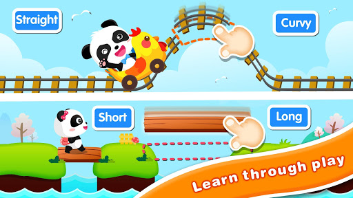 Baby Panda: Magical Opposites - Forest Adventure apklade screenshots 2