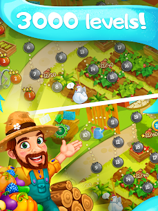 Funny Farm match 3 Puzzle game! 10