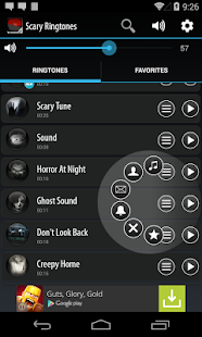 Scary Ringtones Screenshot