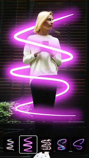 Instasquare Photo Editor: Drip Art, Neon Line Art  Screenshots 4