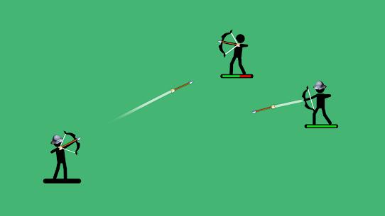 Okçular 2  2 oyuncu veya 1 için Çöp Adam Oyunları Apk 2021 3