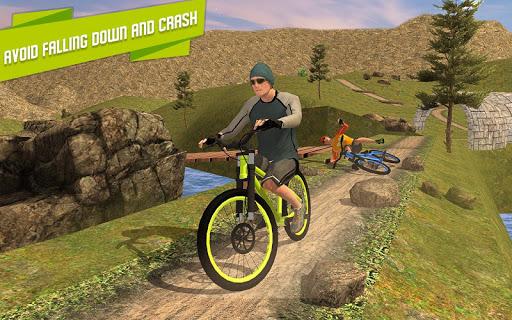 BMX Offroad Bicycle rider Superhero stunts racing screenshots 8