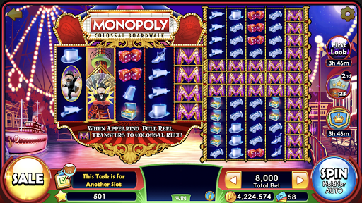 MONOPOLY Slots Free Slot Machines & Casino Games 3.2.1 screenshots 5
