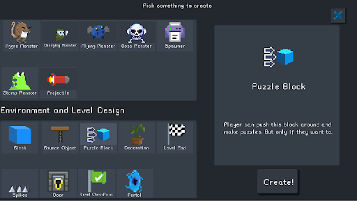 Pocket Game Developer Beta 2.25.07 screenshots 4