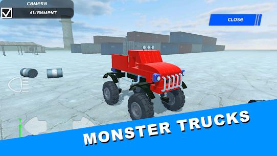 Genius Car 2: Car building sandbox MOD APK 1.0 (Free Purchase) 2