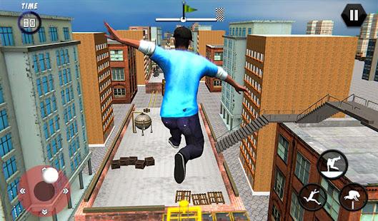 City Rooftop Parkour 2019: Free Runner 3D Game 1.4 Screenshots 9