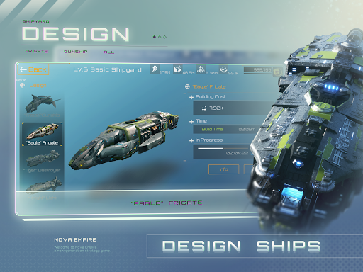 Nova Empire: Space Commander Battles in Galaxy War 2.1.9 screenshots 5
