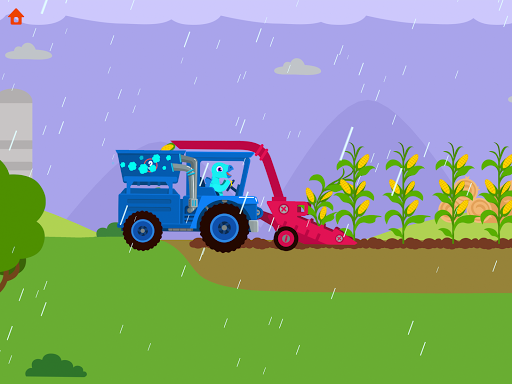 Dinosaur Farm - Tractor simulator games for kids screenshots 18