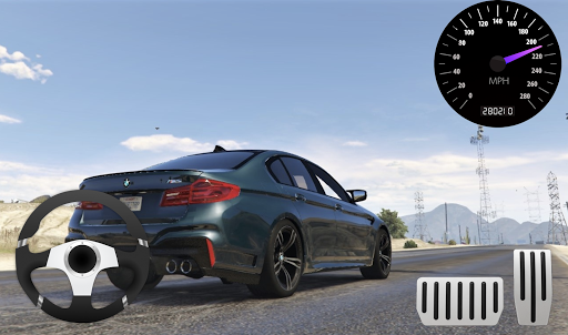 City Racer BMW M5 Parking Area 11.1 screenshots 1