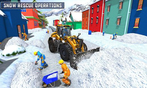 snow heavy excavator simulator 2019 hack