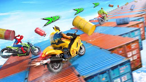 Mega Ramp Bike GT Racing 3D: Bike Stunt Games 2021 apktram screenshots 2
