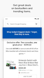 Google Shopping: Discover, compare prices & buy 56 Apk 4