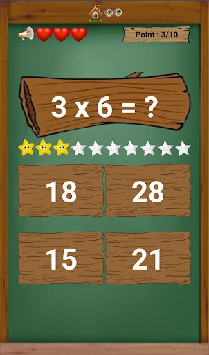 multiplication table  screenshots 1