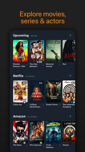 Moviebase: Manage Movies & TV Shows screenshots 1