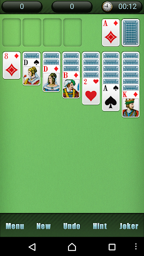 Solitaire free Card Game apktreat screenshots 1