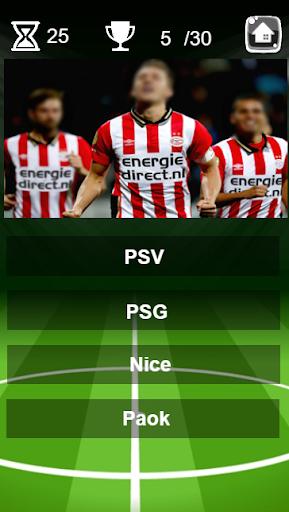 football logo quiz screenshot 1