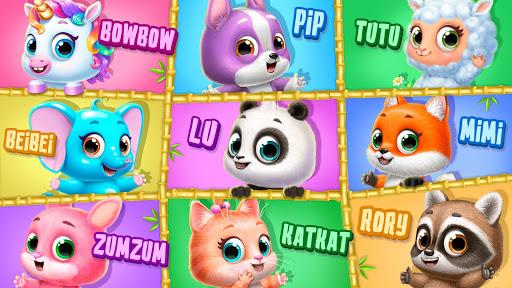Panda Lu Treehouse - Build & Play with Tiny Pets  Screenshots 2