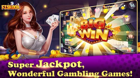 Fish Box - Casino Slots Poker & Fishing Games screenshots 4