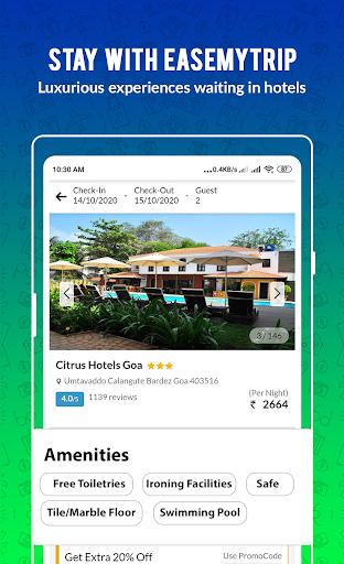 Cheap Flights, Hotel, Bus & Book IRCTC: EaseMyTrip modavailable screenshots 6