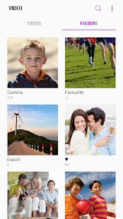 Samsung Video Library Screenshot