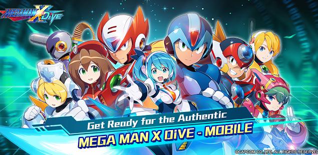 mega man x dive - mobile hack
