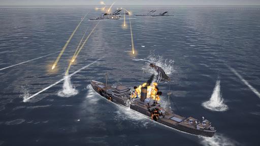 Warship Fleet Command : WW2 Naval War Game  screenshots 11