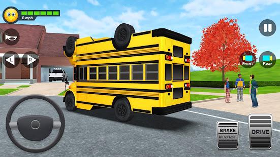 School Bus Simulator - Driving Simulator Games 3.3 screenshots 2