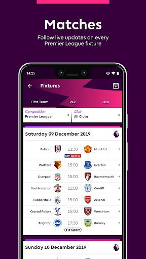 Premier League - Official App 2.4.2.2166 Screenshots 5
