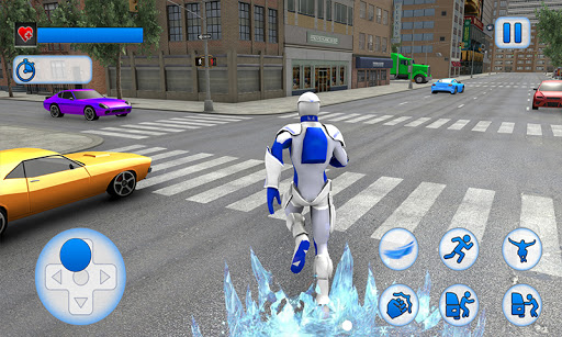 Snow Storm Super Human: Flying Ice Superhero War 1.0.4 screenshots 2