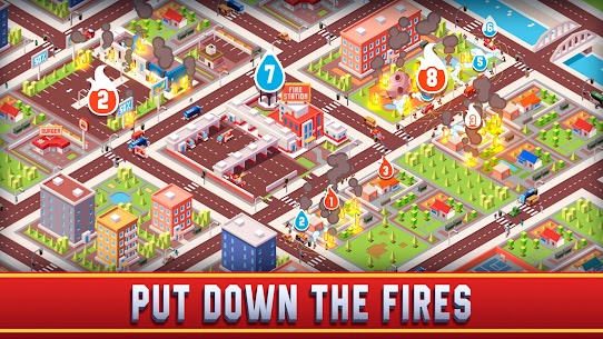Idle Firefighter Empire Tycoon Mod Apk- Management Game (Unlimited Money) 4
