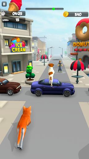 Dog Run - Fun Race 3D apkpoly screenshots 5