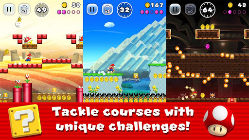 Super Mario Run apktram screenshots 1
