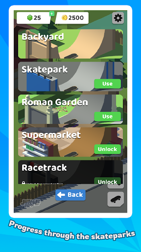 Skatepark - A Skateboard adventure  screenshots 5