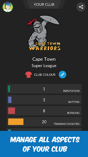 Wicket Cricket Manager - Super League 2020 1.08 pic 2